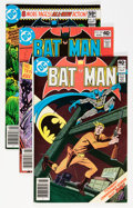 Modern Age (1980-Present):Superhero, Batman Group (DC, 1980-87) Condition: Average NM-.... (Total: 69Comic Books)