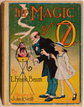 Books:Children's Books, L. Frank Baum. The Magic of Oz. Chicago: Reilly & LeeCo., 1919. Later reprint with no color plates. Octavo. 266...
