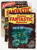 Pulps:Science Fiction, Famous Fantastic Mysteries Group (Frank A. Munsey Co., 1948-51)Condition: Average VG.... (Total: 12 Items)