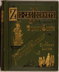 Books:Americana & American History, Hezekiah Butterworth. A Zigzag Journey in the Sunny South; orWonder Tales of Early American History. Boston: Es...