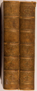 """Books:Non-fiction, Two Volume Set of Wonderful Engravings Featuring """"RemarkableCharacters"""", Circa 1821. Two octavo volumes, unpaginated and wi...(Total: 2 Items)"""