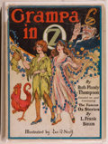 Books:Children's Books, Ruth Plumly Thompson. Grampa in Oz. Chicago: Reilly &Lee Co., 1924. Later reprint with no color plates. Octavo....