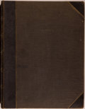 "Books:Americana & American History, [Keppler & Schwarzmann, publishers]. Bound Single Volume of""Puck"" Magazine, July 2, 1884 to December 31, 1884. New York: Ke..."