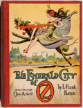 Books:Children's Books, L. Frank Baum. The Emerald City of Oz. Chicago: Reilly &Lee Co., 1910. Later reprint with no color plates. Octa...