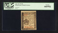 Colonial Notes:Pennsylvania, Pennsylvania April 25, 1776 3d PCGS Gem New 66PPQ.. ...
