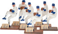 Baseball Collectibles:Hartland Statues, Nolan Ryan Signed Southland Figurines Lot of 6. ...