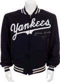 Autographs:Others, Circa 1990 Mickey Mantle Signed Jacket....