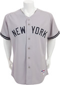 Baseball Collectibles:Uniforms, 2005 Don Mattingly Opening Day Game Worn New York Yankees Jersey....