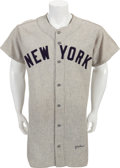Baseball Collectibles:Uniforms, 1951 Joe Collins Game Worn New York Yankees Jersey....