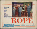"Movie Posters:Hitchcock, Rope (Warner Brothers, 1948). Lobby Card (11"" X 14""). Hitchcock....."