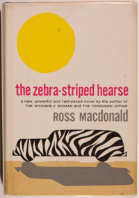 Ross Macdonald. The Zebra-Striped Hearse. New York: Alfred A. Knopf, 1962. First edi