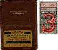 Baseball Collectibles:Others, Charlie Root's Lifetime Baseball Pass & 1932 World Series Game 3 Ticket Stub....