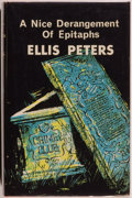 Books:Mystery & Detective Fiction, Ellis Peters. A Nice Derangement of Epitaphs. London: Published for the Crime Club by Collins, 1965. First editi...
