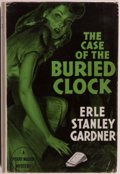 Books:Mystery & Detective Fiction, Erle Stanley Gardner. The Case of the Buried Clock. London:Cassell and Company, Ltd., 1945. First English editi...