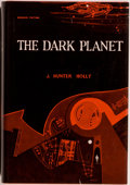 Books:Science Fiction & Fantasy, [Jerry Weist]. J. Holly Hunter. REVIEW COPY. The Dark Planet. New York: Avalon Books, [1962]. First edition, fir...