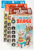Bronze Age (1970-1979):Cartoon Character, Harvey-Pax Sad Sack Related File Copy Group (Harvey, 1970s)....(Total: 12 Items)