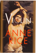 Books:Horror & Supernatural, Anne Rice. SIGNED TWICE and INSCRIBED. Violin - Advance Reader's Copy. New York: Knopf, 1997. Advanc...