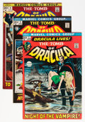 Bronze Age (1970-1979):Horror, Tomb of Dracula #1-70 Plus Group (Marvel, 1972-79) Condition:Average VF except as noted.... (Total: 77 Comic Books)