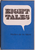Books:Horror & Supernatural, Walter de la Mare. Eight Tales. Sauk City: Arkham House,1971. First edition, first printing. Octavo. 108 pages. Pub...