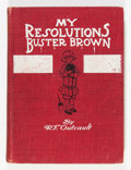 Platinum Age (1897-1937):Miscellaneous, Buster Brown My Resolutions - 1910 Edition (Frederick A. StokesCo., 1910) Condition: VG+....