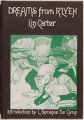 Books:Horror & Supernatural, Lin Carter. Dreams from R'Lyeh. Sauk City: Arkham House,1975. First edition, first printing. Octavo. 72 pages. Publ...
