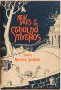 Books:Horror & Supernatural, Ramsey Campbell. New Tales of the Cthulhu Mythos. [SaukCity]: Arkham House, 1980. First edition, first printing. Oc...