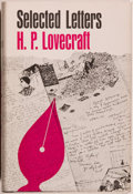 Books:Horror & Supernatural, H. P. Lovecraft. Selected Letters. Volume II. 1925-1929.Sauk City: Arkham House, 1968. First edition, first pri...