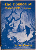 Books:Horror & Supernatural, Brian Lumley. The Horror at Oakdeene and Others. [SaukCity]: Arkham House, 1977. First edition, first printing. Oct...