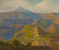 Fine Art - Painting, American, DANA BARTLETT (American, 1882-1957). Grand Canyon. Oil oncanvas. 24 x 30 inches (61.0 x 76.2 cm). Signed lower left:...