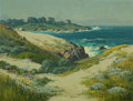 Paintings, CARL SAMMONS (American, 1883-1968). 17 Mile Drive, Carmel by the Sea. Oil on canvas. 20 x 26 inches (50.8 x 66.0 cm). Si...