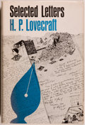Books:Horror & Supernatural, H. P. Lovecraft. Selected Letters. Volume I. 1911-1924. SaukCity: Arkham House, 1965. First edition, first printing...