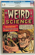 Golden Age (1938-1955):Science Fiction, Weird Science #12 (#1) (EC, 1950) CGC VG/FN 5.0 Cream to off-whitepages....