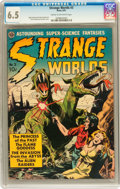 Golden Age (1938-1955):Science Fiction, Strange Worlds #3 (Avon, 1951) CGC FN+ 6.5 Cream to off-whitepages....