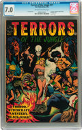 Golden Age (1938-1955):Horror, Terrors of the Jungle #17 (#1) (Star Publications, 1952) CGC FN/VF7.0 Off-white to white pages....