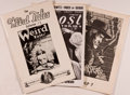 Books:Pulps, Group of Three Pulp Related Fanzines, including: Pulp 7.Spring, 1975. 32 pages. [and:] Ghost Stories. 1973....(Total: 3 Items)