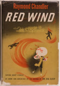 Books:Mystery & Detective Fiction, Raymond Chandler. Red Wind. A Collection of Short Stories.Cleveland and New York: The World Publishing Company,...