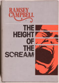 Books:Horror & Supernatural, Ramsey Campbell. The Height of the Scream. Sauk City: Arkham House, 1976. First edition, first printing. Octavo. 229...