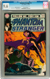 The Phantom Stranger #4 (DC, 1969) CGC NM+ 9.6 Off-white to white pages