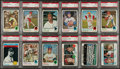 Baseball Cards:Lots, 1973 Topps Baseball PSA NM-MT 8 and MINT 9 Collection (40). ...