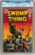 Bronze Age (1970-1979):Horror, Swamp Thing #5 (DC, 1973) CGC NM 9.4 Off-white pages....