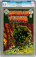 Bronze Age (1970-1979):Horror, Swamp Thing #9 (DC, 1974) CGC VF+ 8.5 Off-white to white pages....