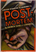 Books:Mystery & Detective Fiction, Patricia Daniels Cornwell. Postmortem. New York: Scribners,[1990]. First edition, first printing. Octavo. 293 pages...