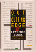 Books:Mystery & Detective Fiction, Lawrence Block. SIGNED. Out on the Cutting Edge. New York: William Morrow, [1989]. First edition, first printing. ...