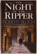 Books:Horror & Supernatural, Robert Bloch. SIGNED. The Night of the Ripper. Garden City:Doubleday, 1984. First edition, first printing. Signed...