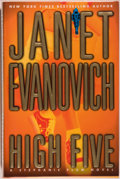 Books:Mystery & Detective Fiction, Janet Evanovich. SIGNED. High Five. New York: St. Martin'sPress, [1999]. First edition, first printing. Signe...