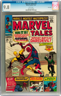 Marvel Tales #11 Twin Cities pedigree (Marvel, 1967) CGC NM/MT 9.8 White pages