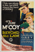 "Movie Posters:Action, Beyond the Law (Columbia, 1934). One Sheet (27"" X 41""). Action....."