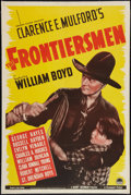 "Movie Posters:Western, The Frontiersman (Paramount, 1937). One Sheet (27.5"" X 41""). Western.. ..."