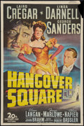 """Movie Posters:Crime, Hangover Square (20th Century Fox, 1945). One Sheet (27"""" X 41""""). Crime.. ..."""