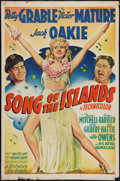 """Movie Posters:Musical, Song of the Islands (20th Century Fox, 1942). One Sheet (27"""" X 41"""") Style B. Musical.. ..."""